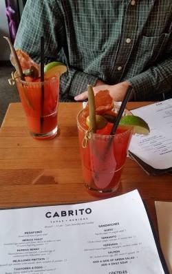 cabrito drinks
